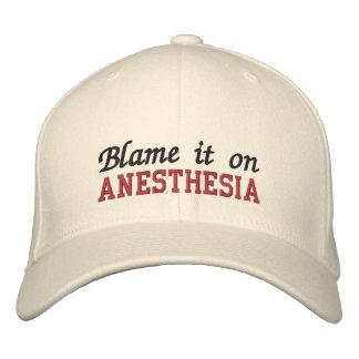 Cúlpelo en anestesia gorras bordadas