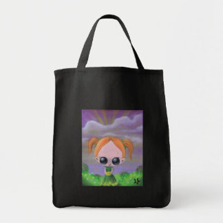 cúlpelo en la bolsa de asas de las flores