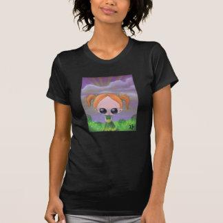 cúlpelo en la camisa para mujer de las flores