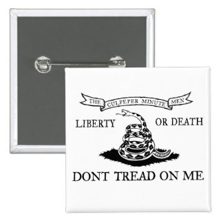 Culpeper Dont Tread On Me Buttons Pinback Button