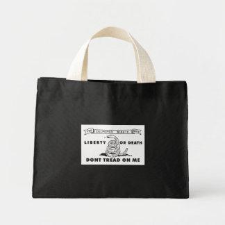 Culpeper Minute Men Flag - Dont Tread on Me Tote Bag