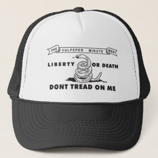 Culpeper Minute Men flag Trucker Hat