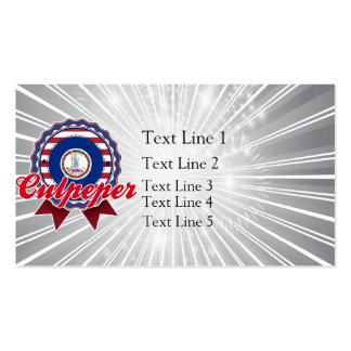 Culpeper, VA Double-Sided Standard Business Cards (Pack Of 100)