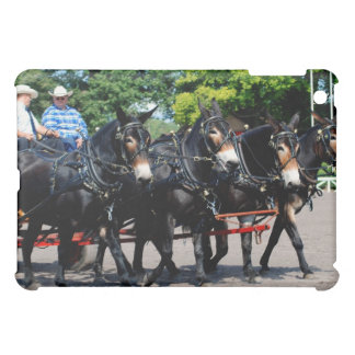 culpeper va draft horse/mule show iPad mini cover