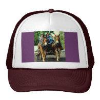 culpeper va draft horse show mesh hats