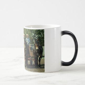 culpeper va draft horse show coffee mug