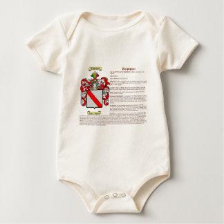 Culpepper (meaning) baby bodysuit