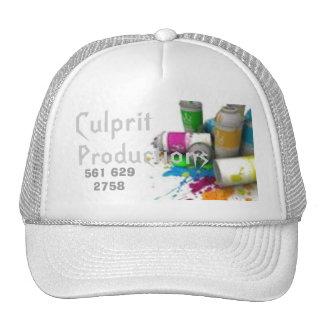 Culprit, Productions, 561 629 2758 Trucker Hat