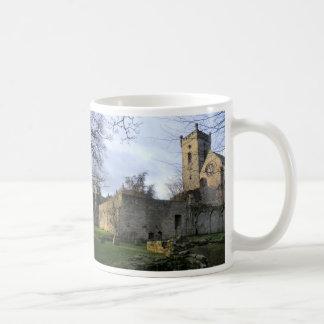 Culross Abbey Ruins Classic White Coffee Mug