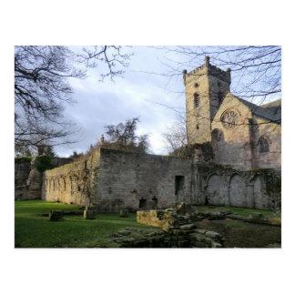 Culross Abbey Ruins Postcard