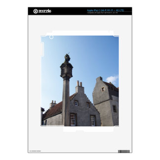 Culross Scotland Mercat Cross iPad 3 Decals