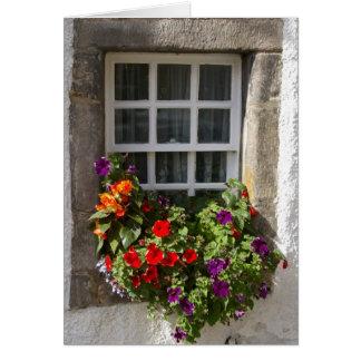 Culross window greeting card