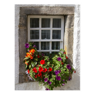 Culross window postcard