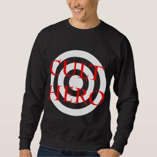 Cult Hero in Red Sweatshirt