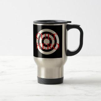 Cult Hero in Red Travel Mug