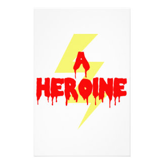 Cult Movie Heroine Custom Stationery