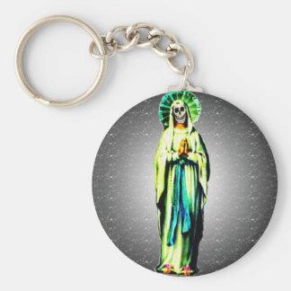 Cult Of Santa Muerte Keychain