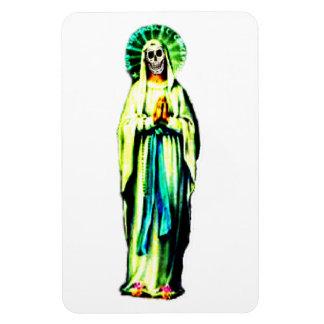 Cult Of Santa Muerte Magnet