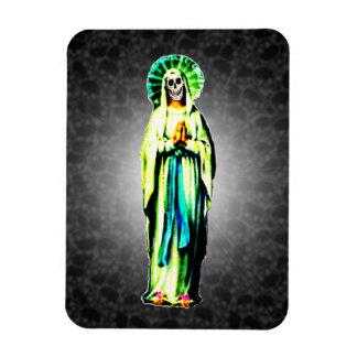 Cult Of Santa Muerte Vinyl Magnets