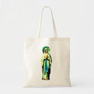 Cult Of Santa Muerte Tote Bag