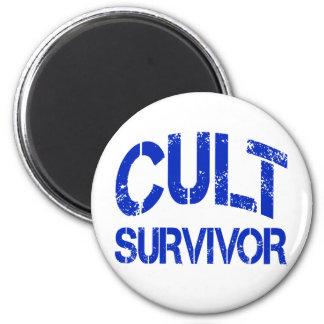 Cult Survivor 2 Inch Round Magnet