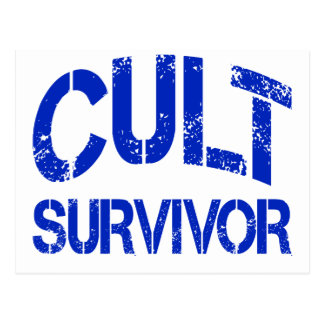 Cult Survivor Postcard