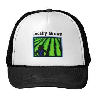 Cultivado localmente gorros