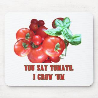 Cultivador del tomate mousepads