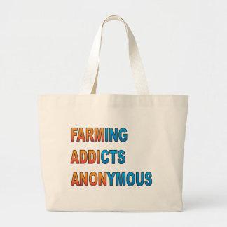 Cultivando a los adictos anónimos bolsa tela grande