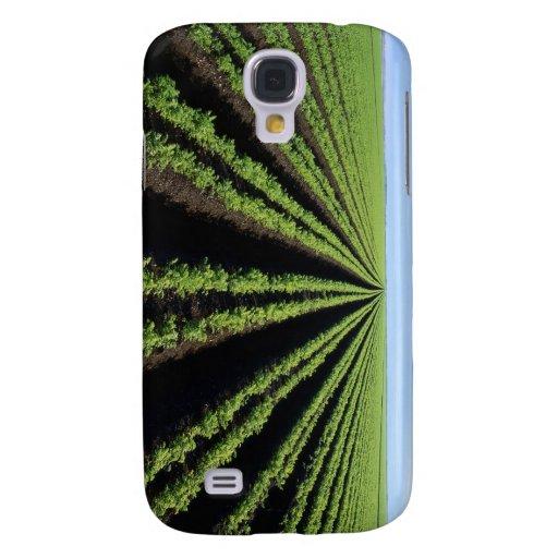 cultivando, cosechas, jardín, caso del iphone, FFA Funda Para Galaxy S4