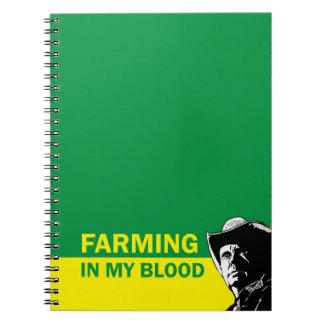 Cultivando en mi sangre, el regalo para un granjer notebook