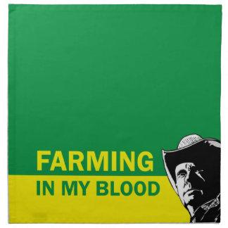 Cultivando en mi sangre, el regalo para un servilleta de papel