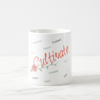 Cultivate your home coffee mug
