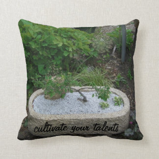 Cultivate Your Talents Pillow