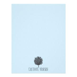 Cultivate Yourself Tree Letterhead