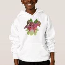Cultivated Columbine Kid Child Hoodie