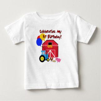 Cultive el 1r cumpleaños camisas