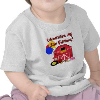 Cultive el 2do cumpleaños camisetas