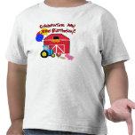 Cultive el 3ro cumpleaños camiseta
