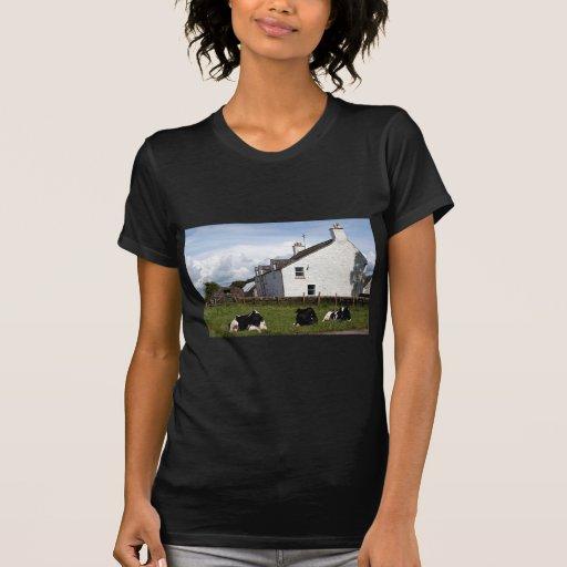 Cultive la casa con las vacas, Escocia, Reino Unid Tshirts