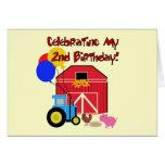Cultive las 2das camisetas y regalos del cumpleaño felicitaciones