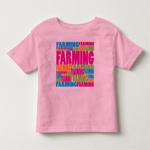 Cultivo colorido camiseta