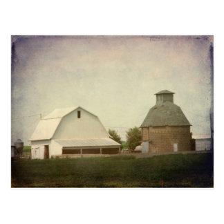 Cultivo de Iowa Tarjeta Postal