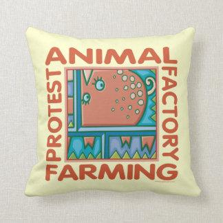 Cultivo de la fábrica almohada