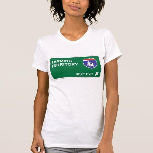Cultivo de la salida siguiente camisetas
