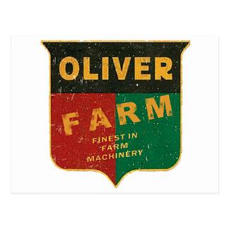 Cultivo de Oliverio Tarjetas Postales
