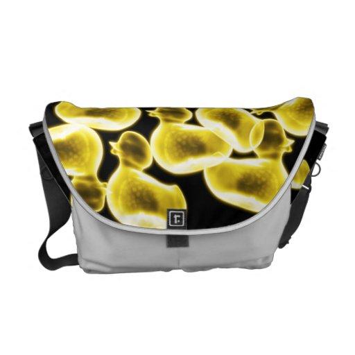 Culto de goma del pato - la bolsa de mensajero del bolsa messenger