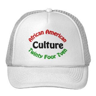 Cultura afroamericana gorros bordados