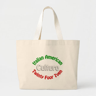 Cultura americana italiana bolsa de mano