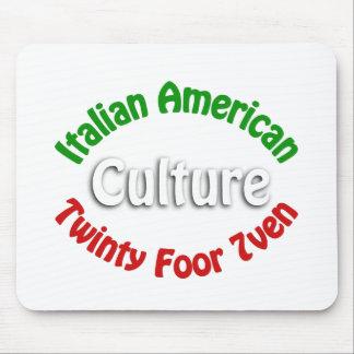 Cultura americana italiana tapete de raton